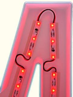 светодиодные модули для подсветки объемных букв
